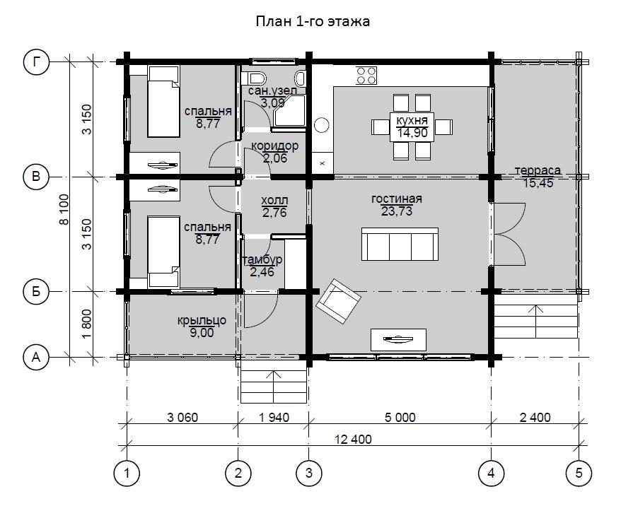 Проекты 2 этажных домов 10х10 планировка с картинками