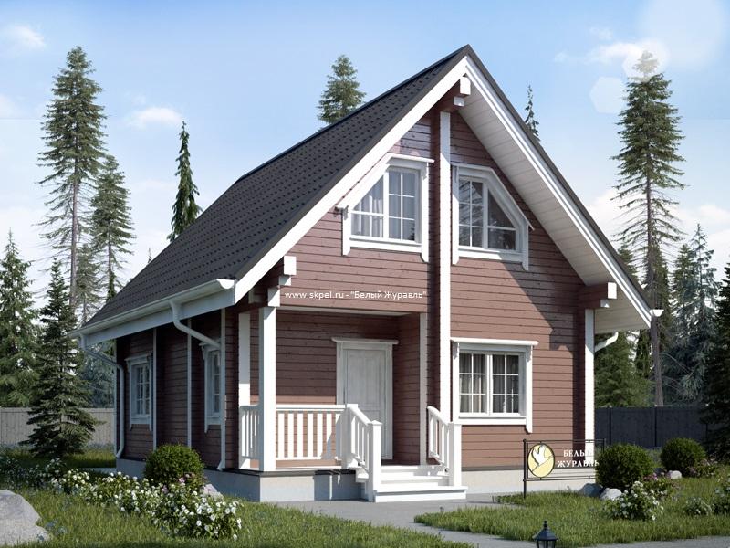 Проекты домов и коттеджей в Перми Строительство